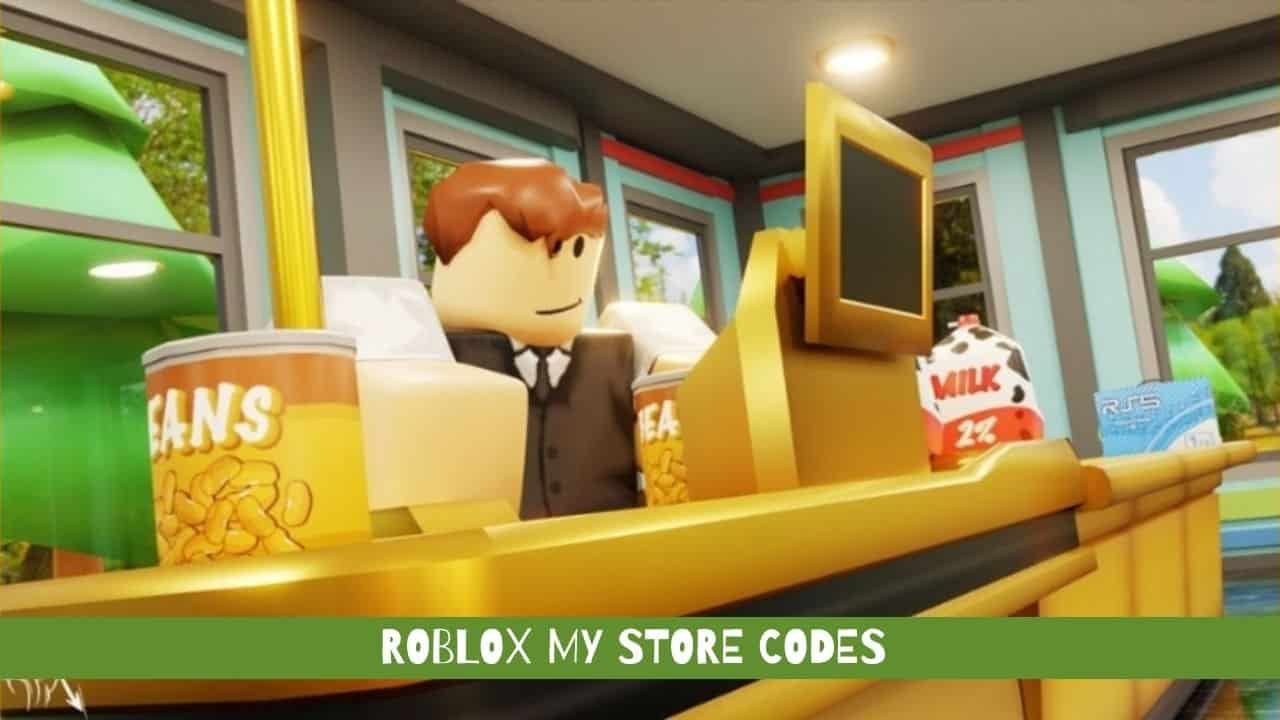 Roblox My Store Codes