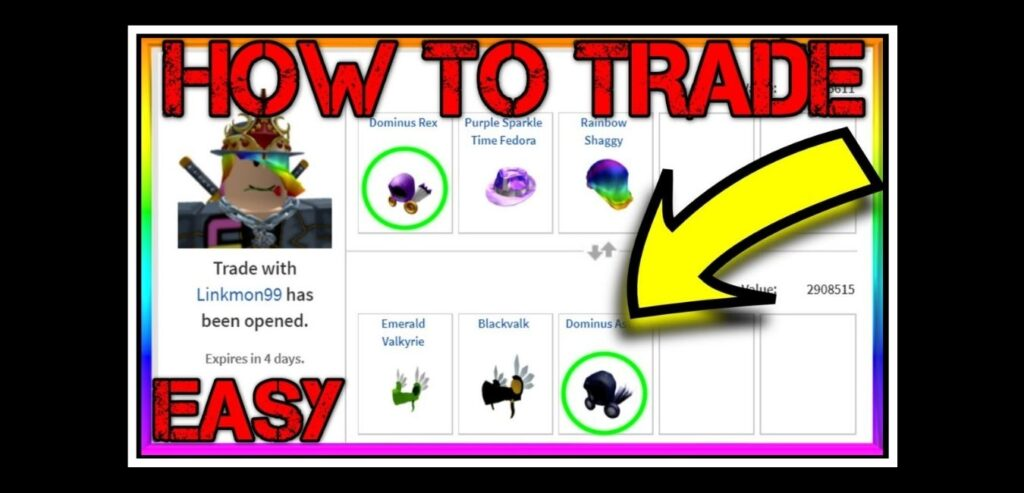 Trading in Roblox