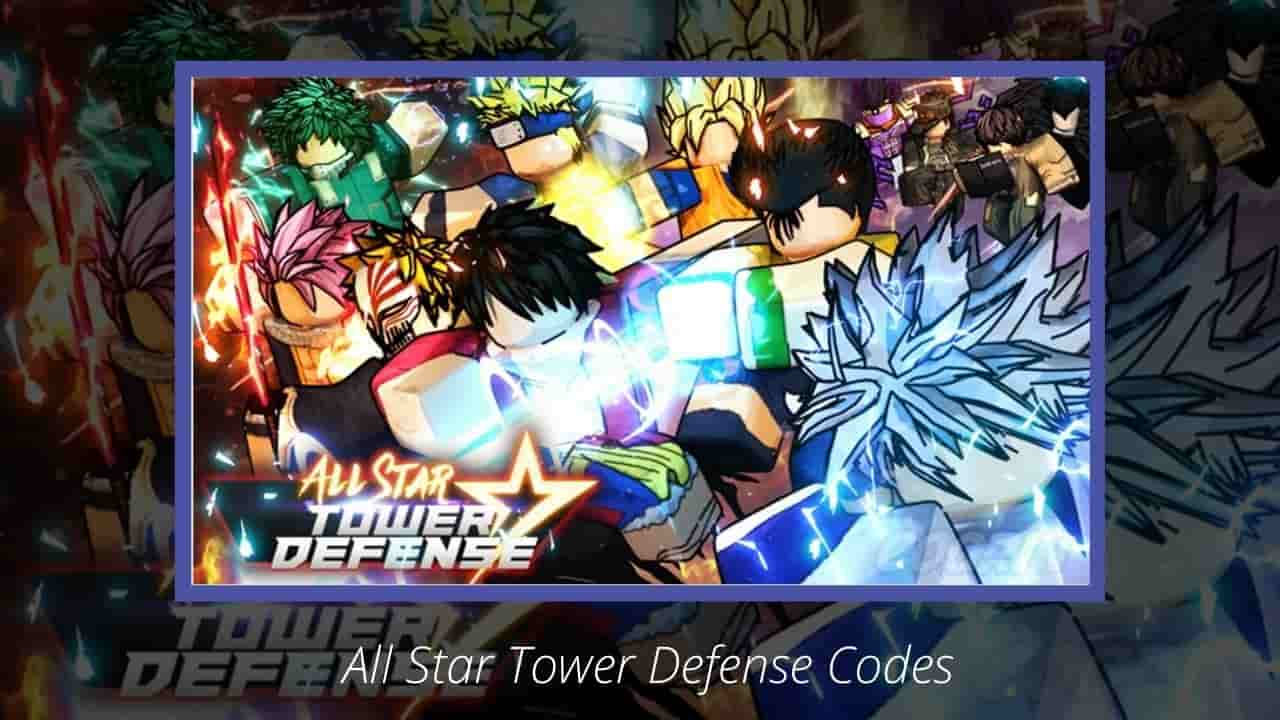 Roblox All Star Tower Defense Codes