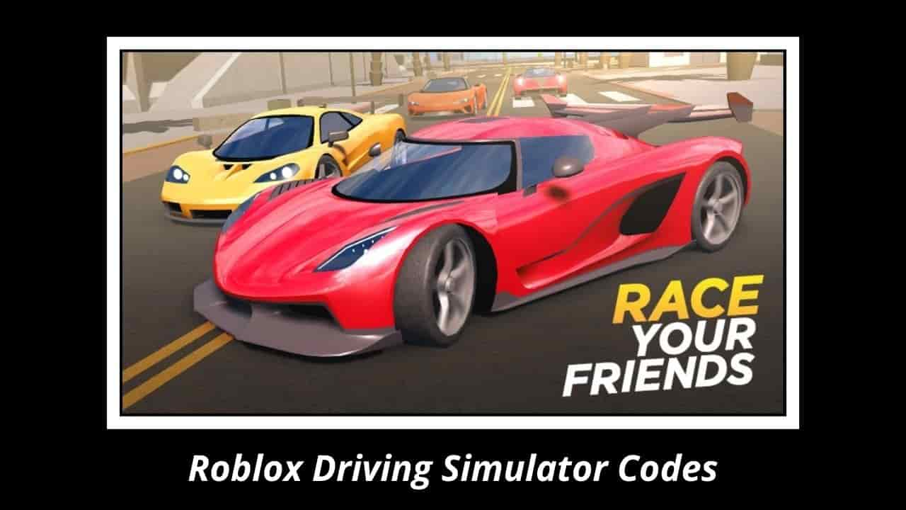 Roblox Driving Simulator Codes