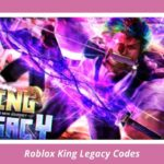 Roblox King Legacy Codes